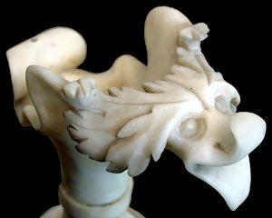 Detailansicht: Der Kopf des Kruges