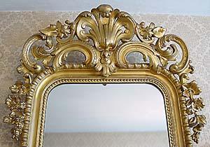 Das obere Ornament im Detail