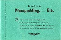 Plumpudding - Eis