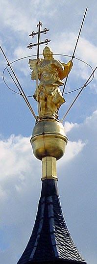 Foto der Engelsstatue