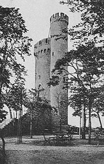 Alte Ansicht des Lennebergturms