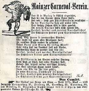 Scan der Werbung für Kappe und Stern 1889