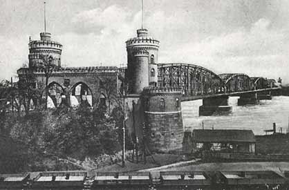 Foto Eisenbahnbrücke