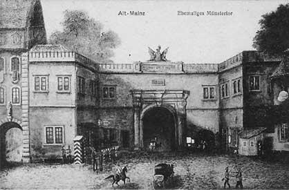 Bild des ehemaligen Münstertors