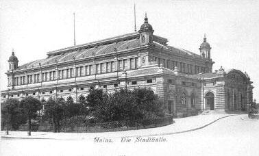Bild von der Mainzer Stadthalle