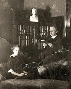 Foto von Theodor Eichberger jun. mit Tochter